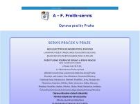 A.F. FROLÍK SERVIS