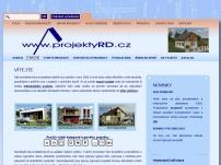 PROJEKTY RODINNÝCH DOMŮ - projektyRD.cz