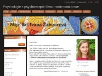 Mgr. Ivana Žahourová – Psychologie a psychoterapie Brno