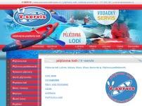 Autonomní půjčovna lodí V-servis
