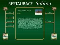 Restaurace Sabina