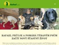 RAFAEL První dočasný domov pro týrané psy - terapie, léčení a osvěta o.p.s.