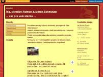 Ing. Miroslav Raiman & Martin Schmutzer vše pro vaši stavbu