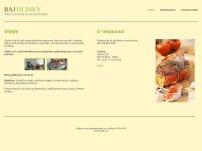 Restaurace Ráj Hlinky