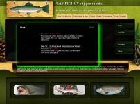 Rybník Rampichov - ráj pro rybáře