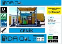 Čerpací stanice RDA Oil, s.r.o.