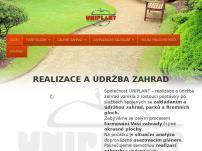 Uniplant – realizace a údržba zahrad
