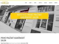 1. pražský kadeřnický salon RENÉ OLIVIER