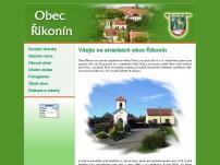 Řikonín - obecní úřad