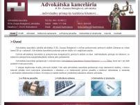 Advokátska kancelária Ružomberok JUDr. Zuzana Baloghová, advokátka