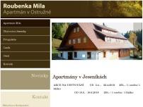 Apartmány a Roubenka Mila