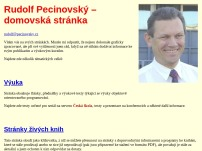 Ing. Rudolf Pecinovský, CSc.