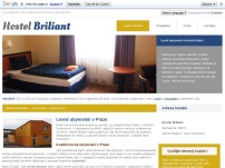 R + V Servis, spol. s r.o. - Hostel Briliant