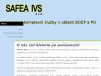 SAFEA IVS s.r.o.