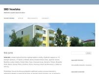 Veselsko, stavební bytové družstvo