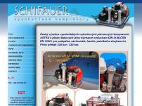 SCHIFAUER – vysokotlaké kompresory