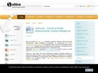 SFÉRA, a.s. - informačný systém