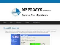 SIS Spektrum, spol. s r.o. – výroba zařízení pro měření času, displeje, sportovní časomíry