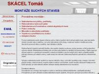 MONTÁŽE SUCHÝCH STAVEB – Tomáš Skácel