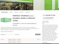 PERFECT STORAGE – pronájem skladu v Praze