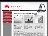 Úklidové služby a úklidové práce RAPANT Praha