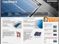 KONEX – solární panely