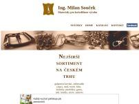 Ing. Milan Souček – Materiály pro kožedělnou výrobu
