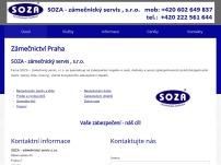 SOZA – zámečnický servis, s.r.o. – zámečnické práce a poradenství
