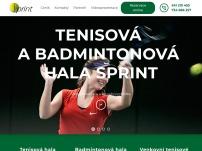 Tenisová & badmintonová hala Sprint