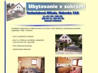 Milada Štefaniaková - ubytovanie v súkromí