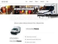 Stěhování - vyklízení Praha