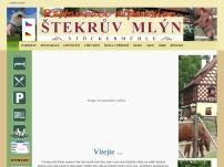 Restaurace a penzion Štekrův mlýn