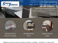 Rekonstrukce bytových jader Štěpán – Jíchové