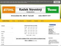 STIHL Radek Novotný