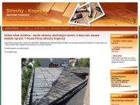 Střechy - Jaroslav Kopecký