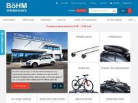E-shop - střešní nosiče BöHM