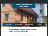 Vojtěch Michl - Strojní omítky, fasády