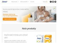 Sunar - kojenecká výživa