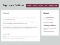 Mgr. Ivana Sušićová
