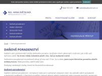 Ing. Hana Světelská daňový poradce ev. č. 2920