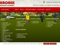 Miloslav Hronek – Zahradní technika