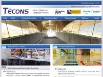 TECONS – Moderní hydroizolační a podlahové systémy, izolace staveb, unikátní technologie PUMA