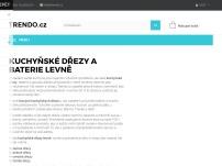 TRENDO.cz - kuchyňské dřezy a příslušenství