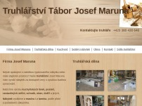 Truhlářství Tábor - Josef Maruna