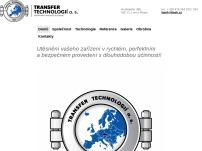 TRANSFER TECHNOLOGIÍ a.s.
