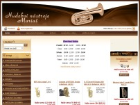 Hudební nástroje Mariašová