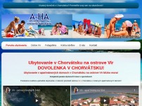 Ubytovanie Chorvatsko Vir.sk