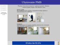 Ubytovanie PMB