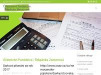 Účetnictví Pardubice Štěpánka Zemanová