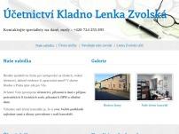 Účetnictví Kladno Lenka Zvolská